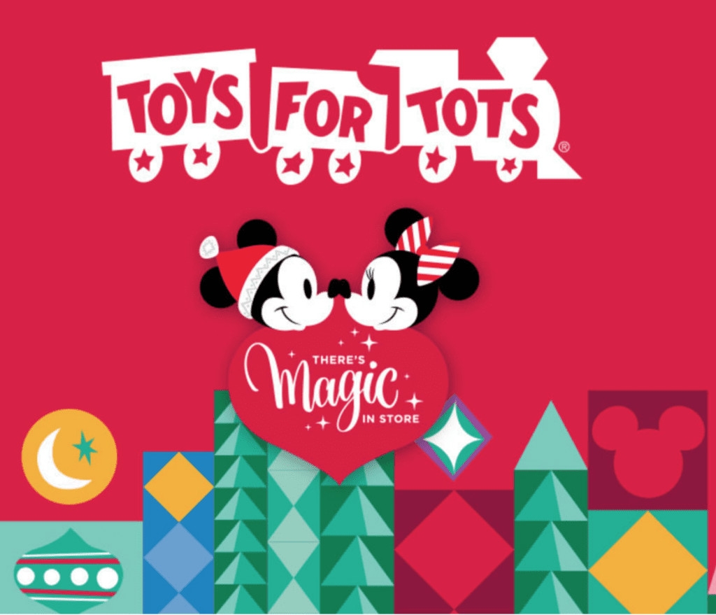 DisneyStore Toys for Tots