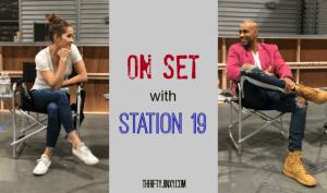 EXCLUSIVE Boris Kodjoe Station 19 Video + a Visit to the Set with Jaina Lee Ortiz