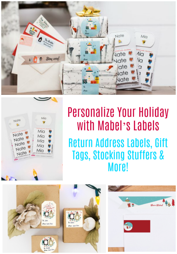 Personalize Your Holiday with Mabels Labels