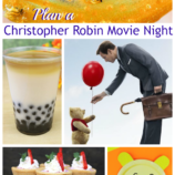 Plan a Christopher Robin Movie Night: Recipes, Crafts and More!