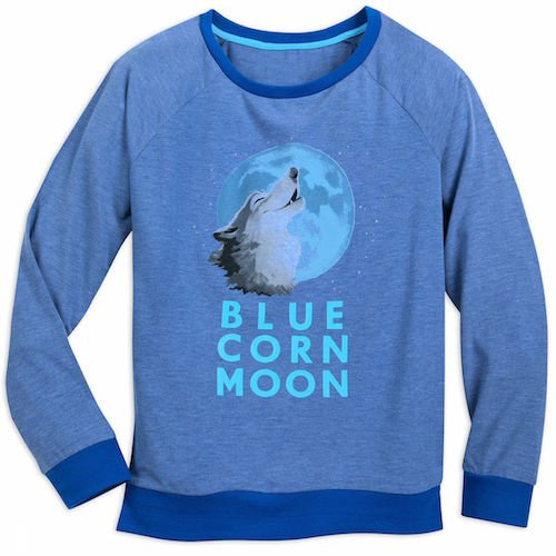 Pocahontas Blue Corn Moon Sweatshirt