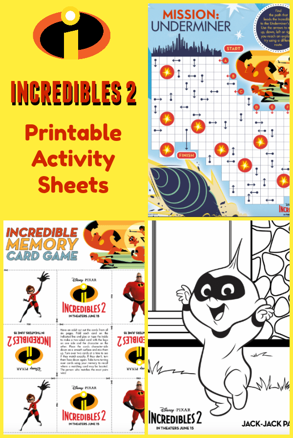 Printable-Incredibles-Activity-Sheets