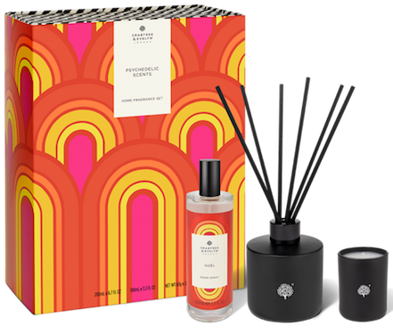 Psychedelic Scents Home Fragrance Set Crabtree Evelyn