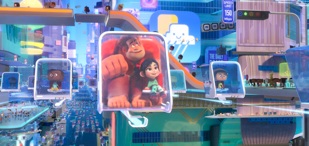 RALPH BREAKS THE INTERNET Development