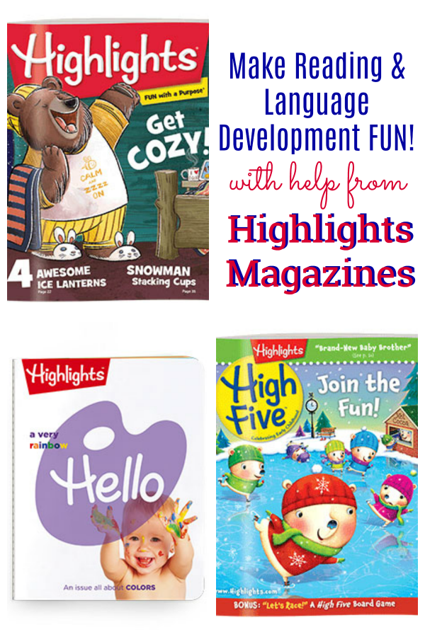 Reading and Language Development Fun with Highlights Magazines