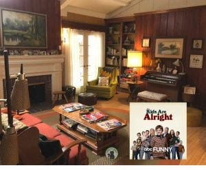 The Kids Are Alright Set Visit – Let's Step Back in Time!