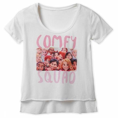 Vanellope Disney Princesses Comfy Squad