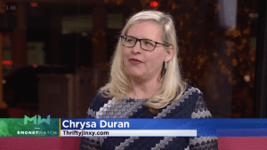 WCCO December Chrysa Duran Thrifty Jinxy
