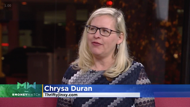 WCCO November Chrysa Duran Thrifty Jinxy