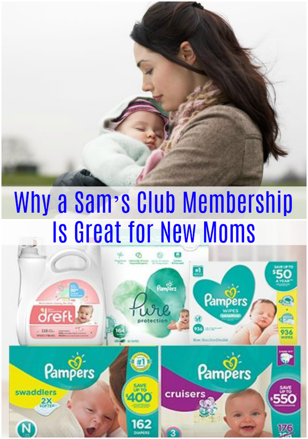Why a Sam's Club Membership Is Great for New Moms