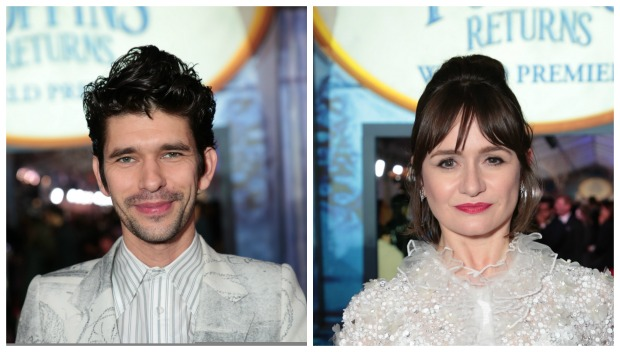 Ben Whishaw and Emily Mortimer World Premiere Mary Poppins Returns