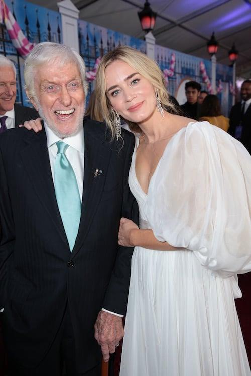 Dick Van Dyke Emily Blunt Mary Poppins Returns Premiere