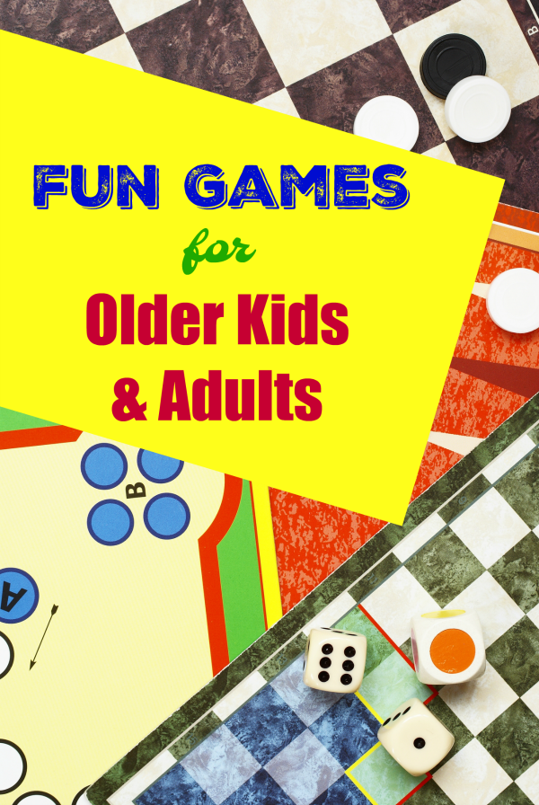 Fun Games for Older Kids and Adults
