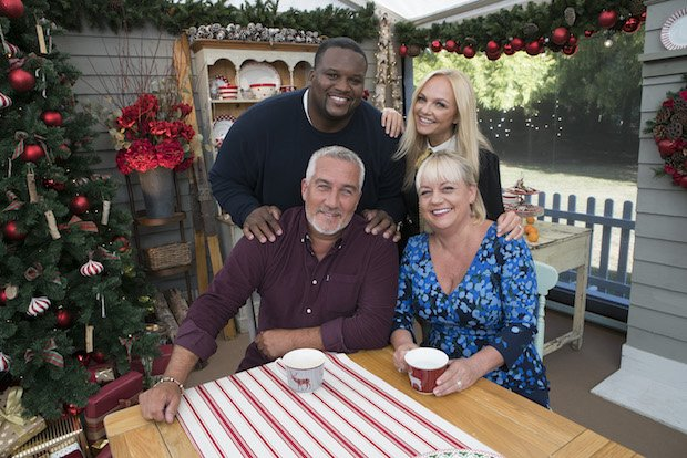 "ANTHONY ""SPICE"" ADAMS, PAUL HOLLYWOOD, EMMA BUNTON, SHERRY YARD"