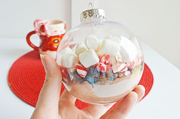 Hot Chocolate Ornament Craft