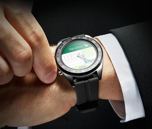 LG Watch W7 GPS