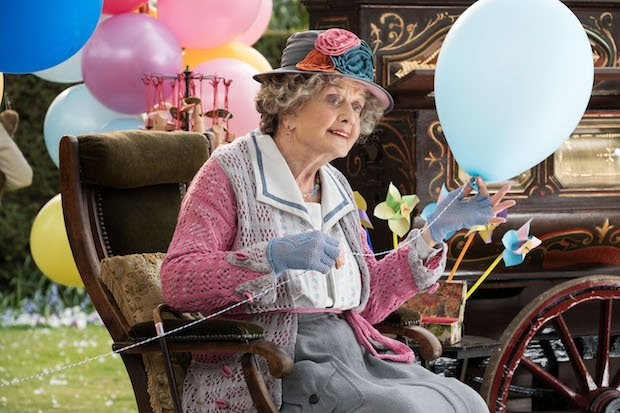 Angela Lansbury is the Balloon Lady in Disney's MARY POPPINS RETURNS