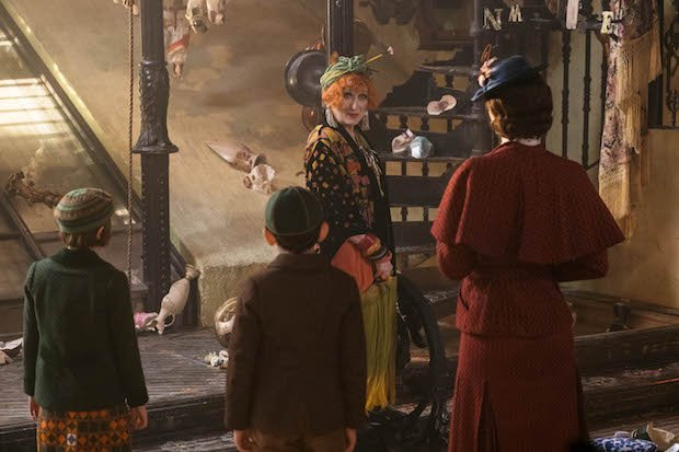 Mary Poppins Returns Meryl Streep Cousin Topsy