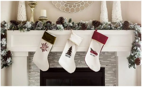 Personalized Velvet Christmas Stockings