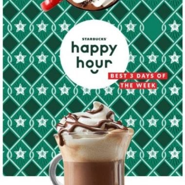 c8b6d66c7 Starbucks  BOGO Espresso Beverages or Hot Chocolate This Weekend (After 3  pm)