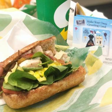 Subway Mary Poppins Returns