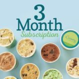 The Best Food Subscription Box Gift: eCreamery Flavor of the Month Subscriptions!
