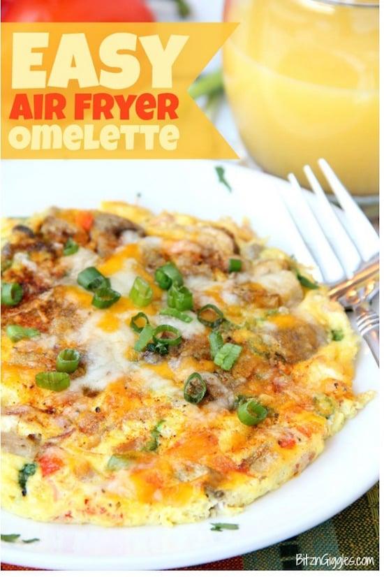 Air Fryer Omelette