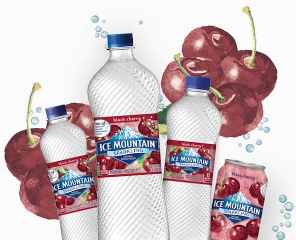 Ice Mountain Sparkling Water