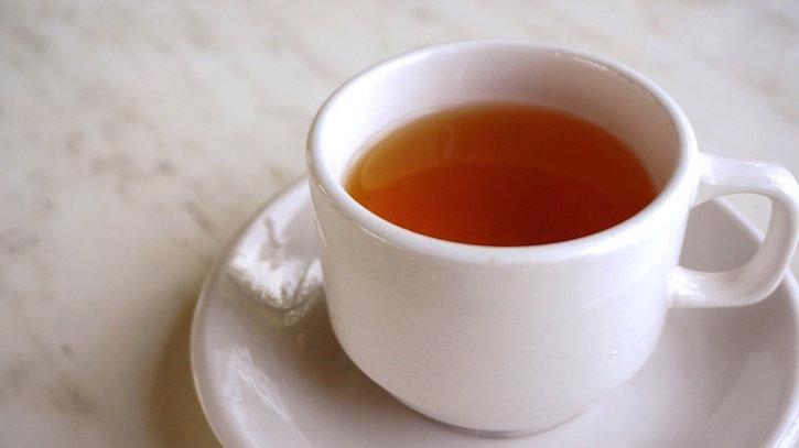 Medicine Ball Tea in White Cup