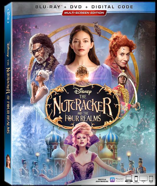 Nutcracker Four Realms BluRay Box
