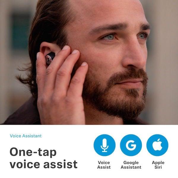 Sennheiser MOMENTUM True Wireless Earbud Headphones One Tap Assist