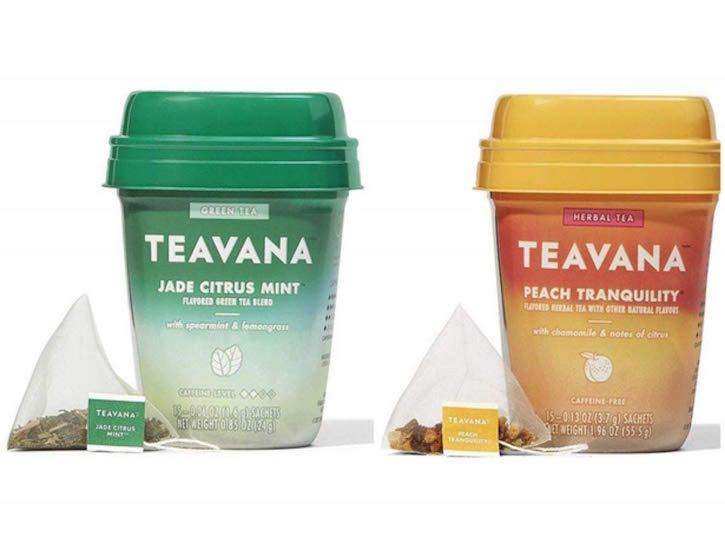 Teavana Medicine Ball Tea Packages