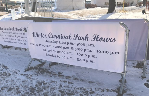 Winter Carnival Hours