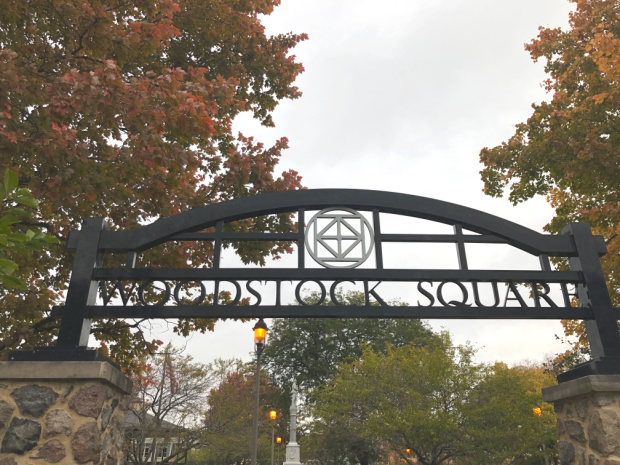 Woodstock IL Town Square