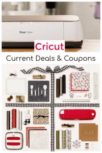 Currrent Cricut Deals