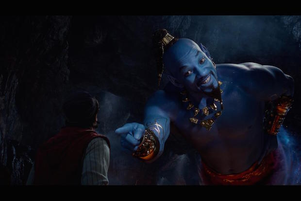 Disney Alladin Will Smith Genie