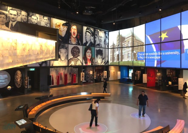 Canadian Museum for Human Rights Interactive Exhibit