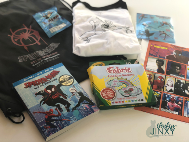 Spiderman Prize pack