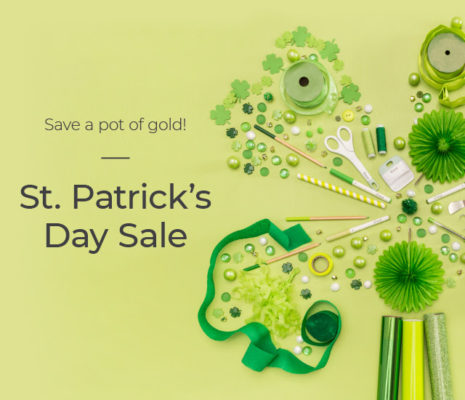 Cricut St. Patrick's Day Sale