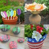 17 Creative DIY Garden Ideas