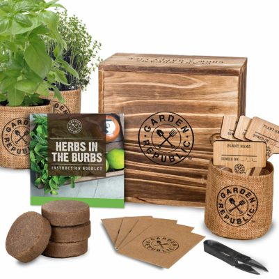Indoor Herb Garden Starter Kit