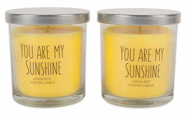 You Are My Sunshine Lemon Zest Candle