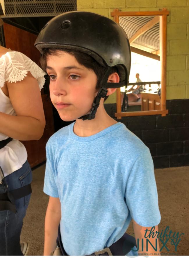 Zip Line Helmet
