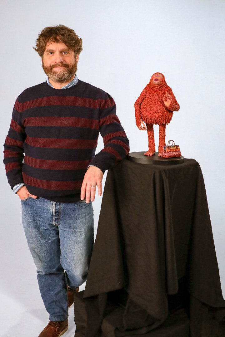 Missing Link movie Interview with Zach Galifianakis