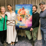 Interview with the Stars of Missing Link: Zach Galifianakis, Zoe Saldana and Chris Butler