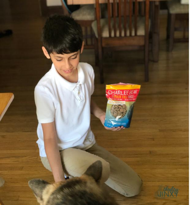 Charlee Bear Grain Free Dog Treats