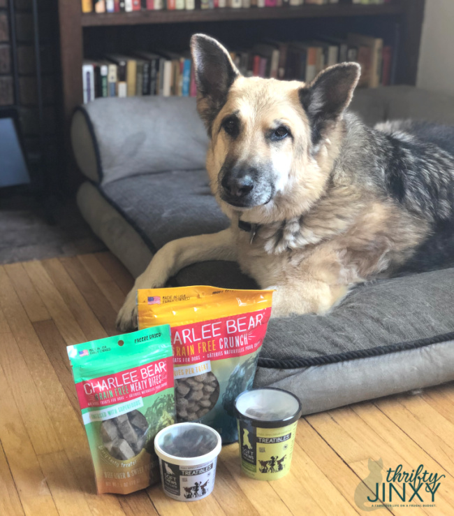 Charlee Bear Treatables Pet Products
