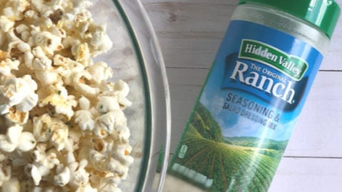 Hidden Valley Ranch Popcorn with Shaker