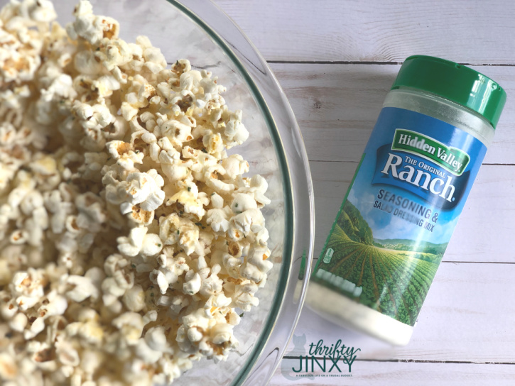 Hidden Valley Ranch Popcorn