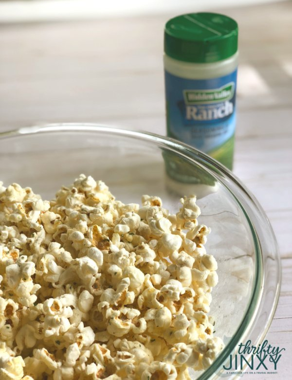 Hidden Valley Ranch Seasoning Shaker Popcorn